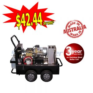 Buster 1321F Electric Hot Water Pressure Washer Stainless Steel Boiler 6888