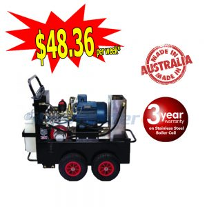 Buster 1521F Electric Hot Water Pressure Washer Stainless Steel Boiler