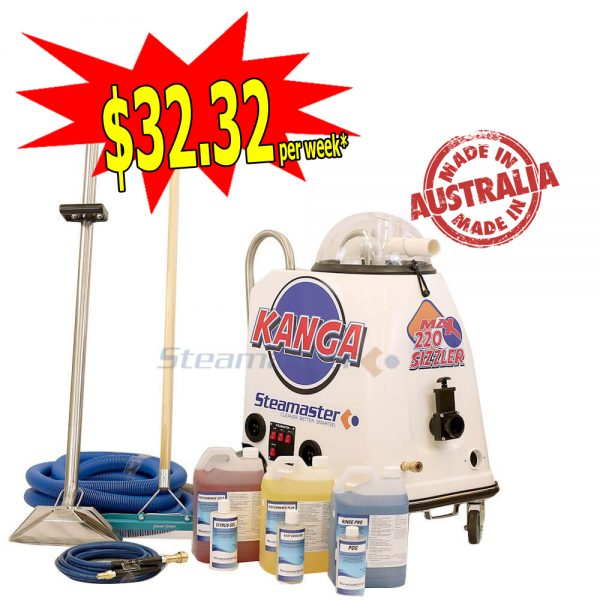 Kanga 220 with Continuous Flow Heater Carpet Upholstery pro 4688 300x300