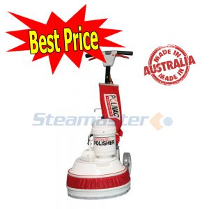 Polivac PV25 Suction Floor Polisher with Filtration Bag and Pad Holder 600x600