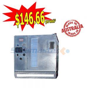 Steamaster 2121 SilentMaster Galvanized Hot Water Pressure Washer 3000PSI