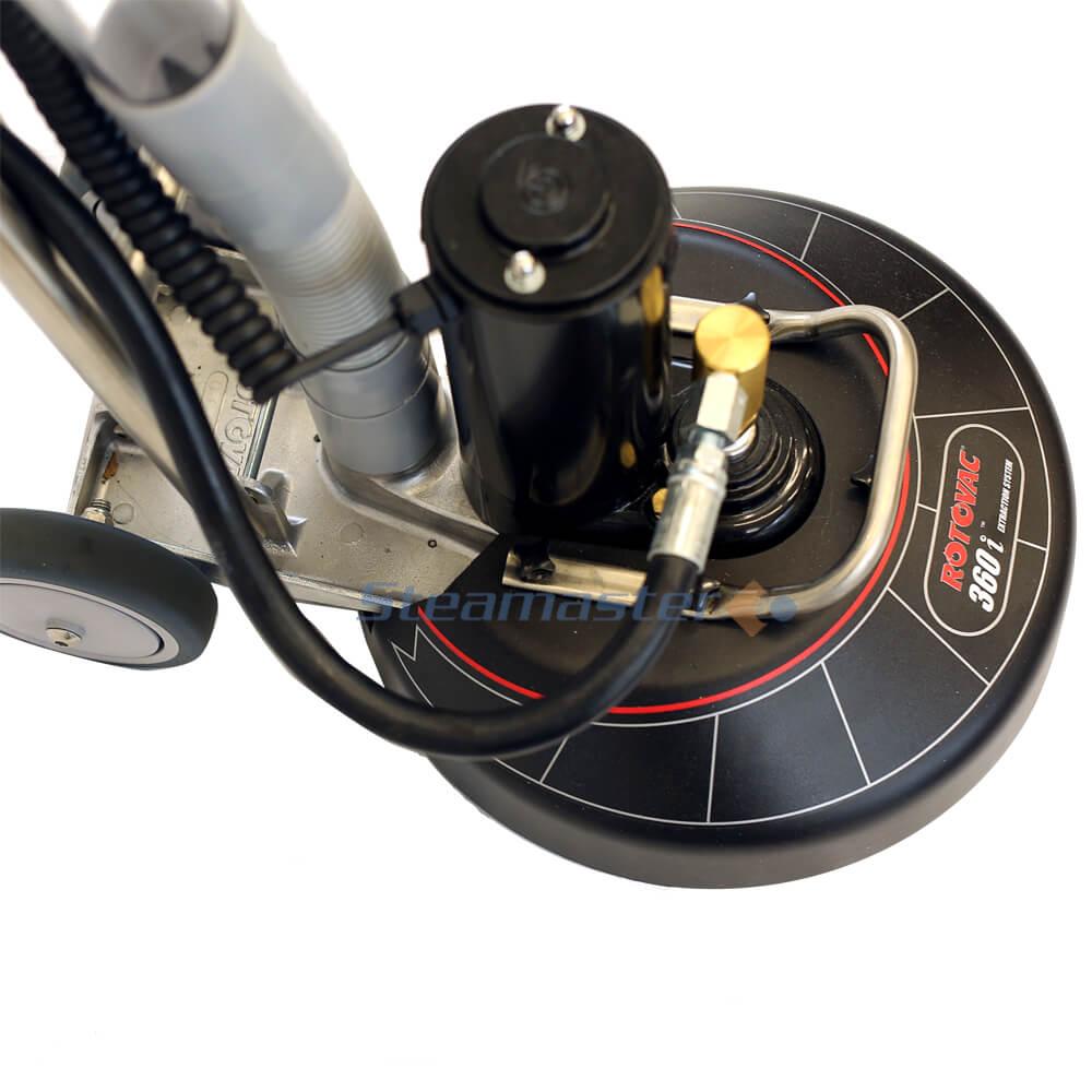 Rotovac 360i Quad Jet Carpet Rotary Extraction Powerhead