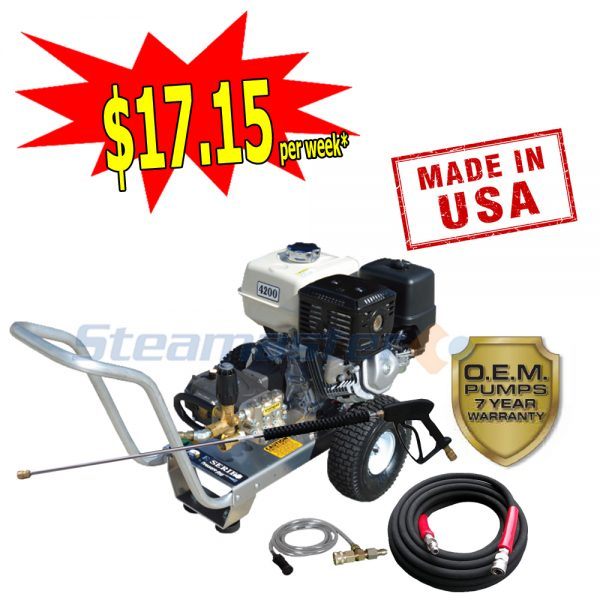 web Steamaster Hurricane 1528 3200RPM Pressure Cleaning Package plus 2488 300x300