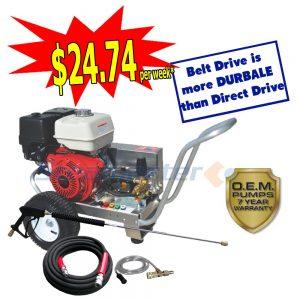 web Steamaster Hurricane 1528E Belt-Drive Electric Start Petrol Pressure Washer 4200PSI plus 3788 sale 3588