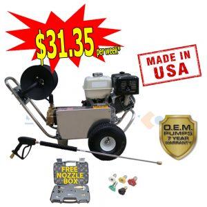web honda gx390 with free nozzle box 5088