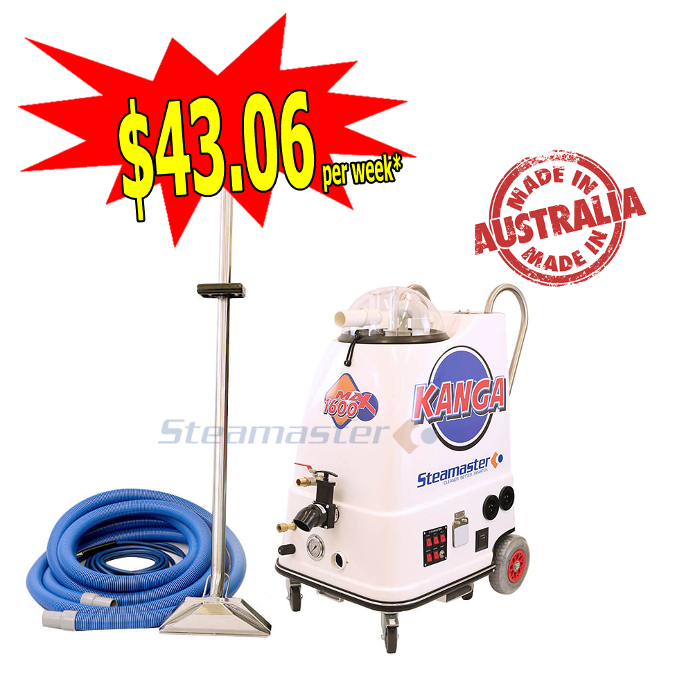 Kanga 1600 with Pre-Heater Carpet Cleaning Business Start-Up Package