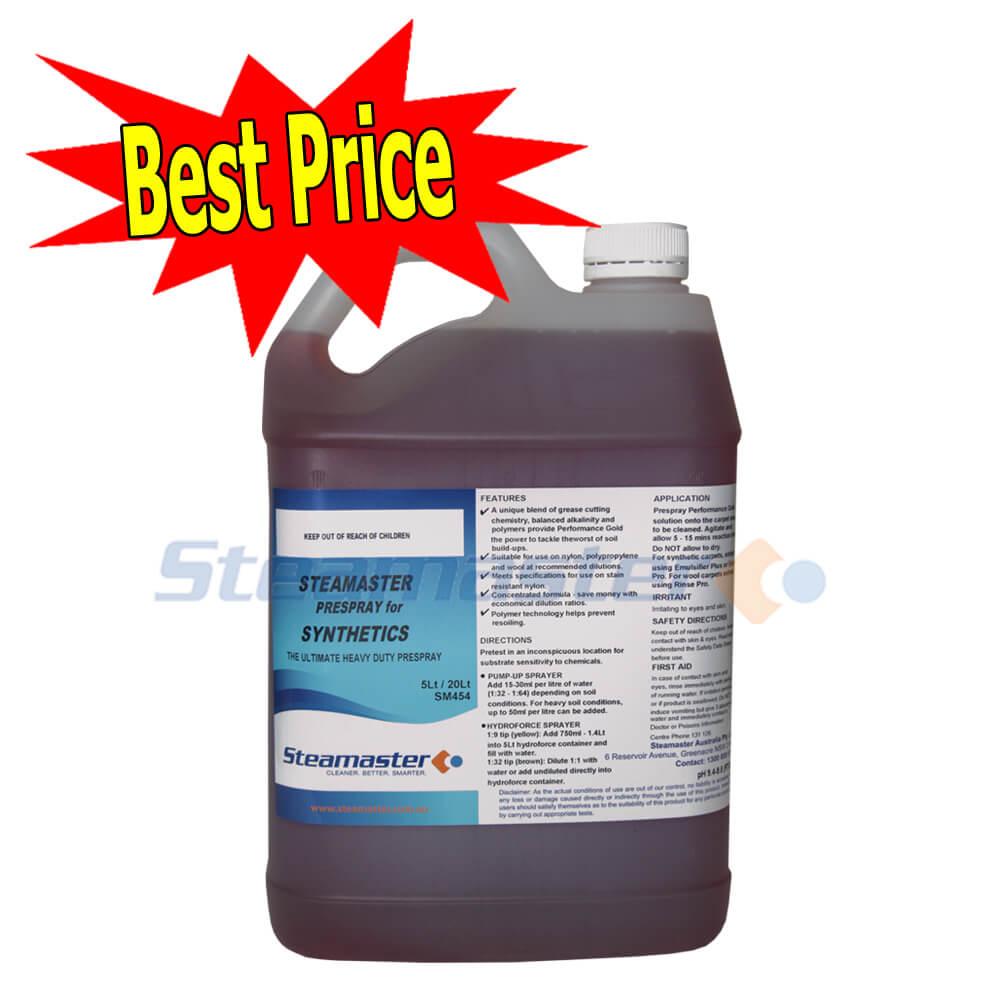 Prespray For Synthetics 5l Heavy Duty Pre Spray With