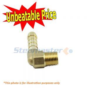 Polivac Terminator 3 8 x 1 2 Barb Brass Male Elbow