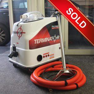 polivac terminator carpet steam cleaning machine