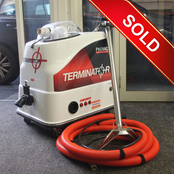 Second hand carpet cleaning machines used carpet cleaning equipment polivac terminator carpet and upholstery cleaning package solutioingenieria Gallery