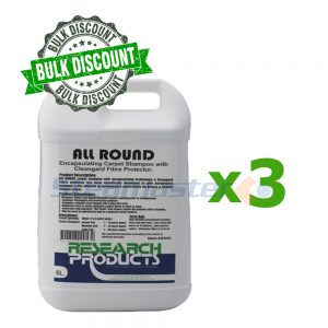 Research Products All Round Encapsulating Carpet Shampoo 15L 5 x 3