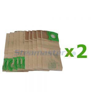 Windsor Vacuum Bags (20 Bags) new
