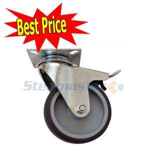 Castor Wheel with Locking Brake 300x300