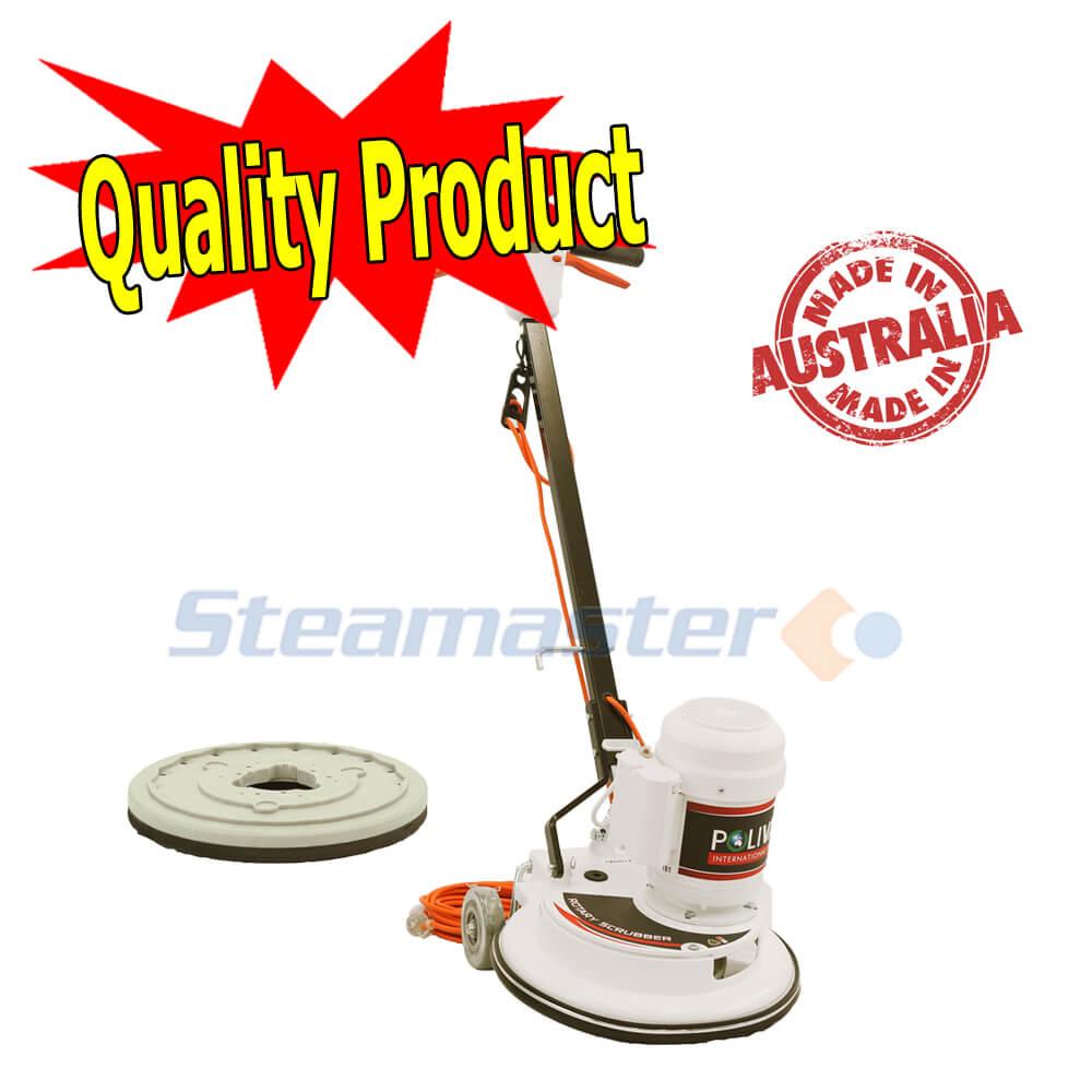 Polivac 2 Speed Polisher Scrubber Steamaster Australia