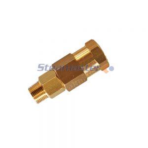Brass HP Swivel 3 8 MaleFemale