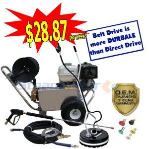 web Honda GX390 Steamaster Hurricane 1528 Belt-Drive 4188