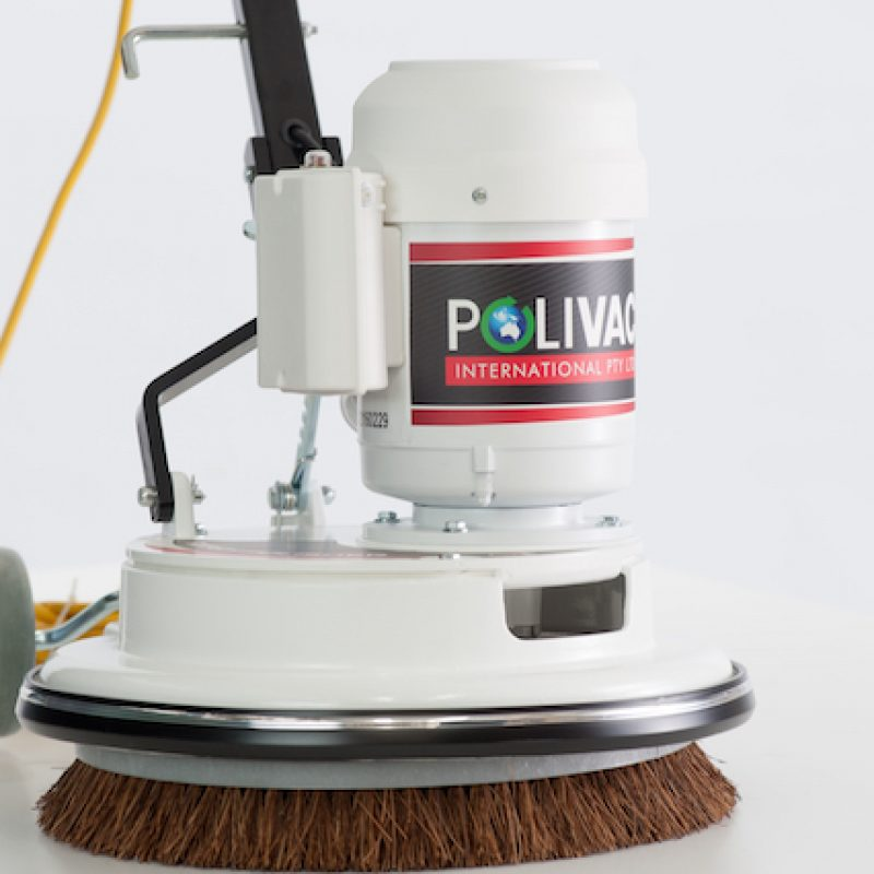 Polivac c25 floor polisher with pad holder polivac for Floor polisher