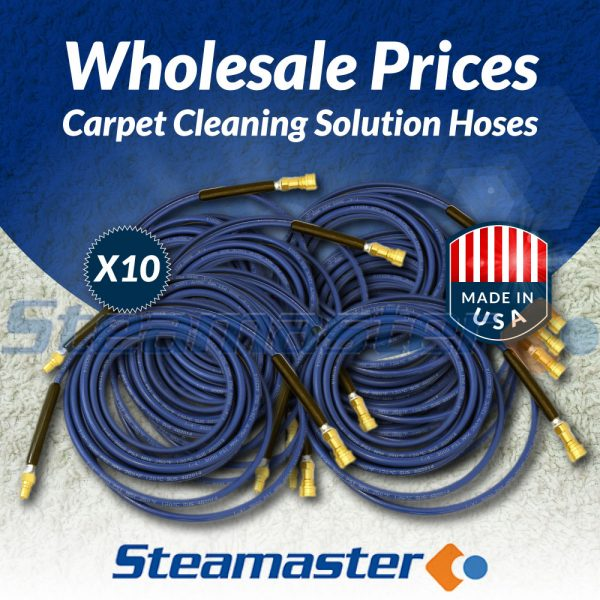 Carpet Cleaning 10 Solution hoses