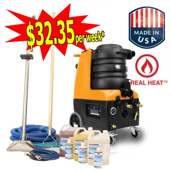 GoodFX X2 Heated LX Motors Carpet Upholstery Cleaning Business Start Up Package 300x300